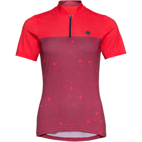 Triple2 Swet Recycled Poly SS Jersey Women, beet red